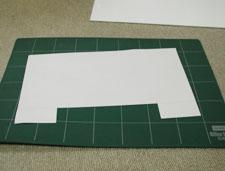 写真:型紙